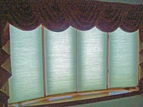 Bow Window Treatments shades on 4 window bow bay amp bow window treatments pinterest