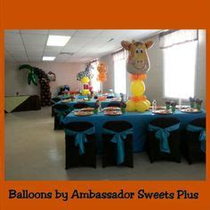 Jungle Theme Baby Shower Balloons by Jungle Theme Baby Shower Balloons Baby Shower