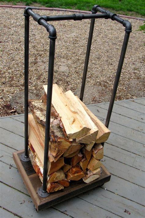 diy firewood rack pipe best 25 firewood rack ideas on wood rack shed racking ideas and firewood rack plans