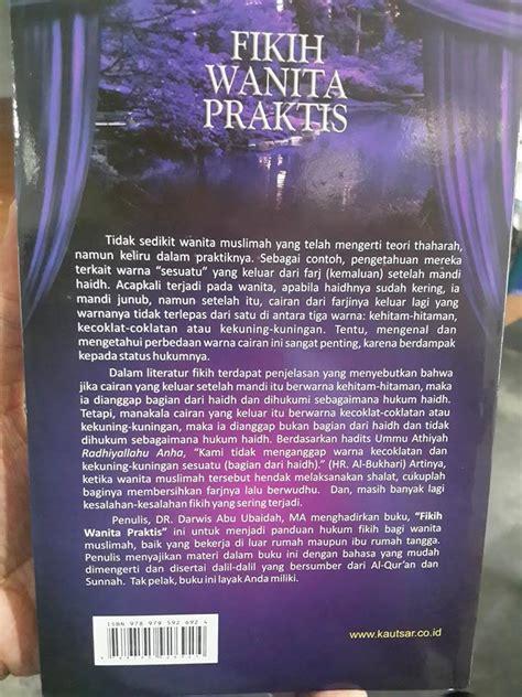 Fikih Wanita Praktis Soft Cover buku fiqih wanita praktis toko muslim title