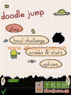 doodle jump for jar 涂鸦跳跃豪华版 doodle jump deluxe java手机游戏下载