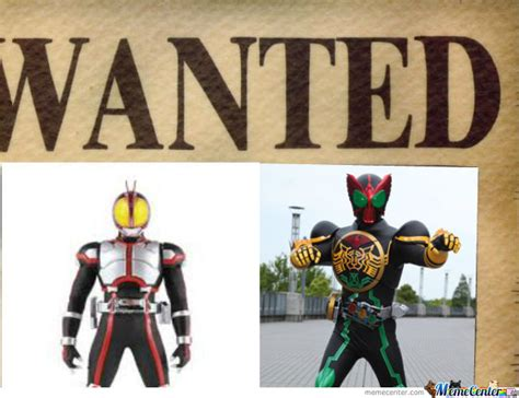 Ooo Meme - kamen rider by recyclebin meme center