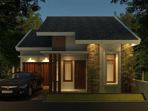 desain tak depan minimalis menentukan konsep rumah minimalis tak depan