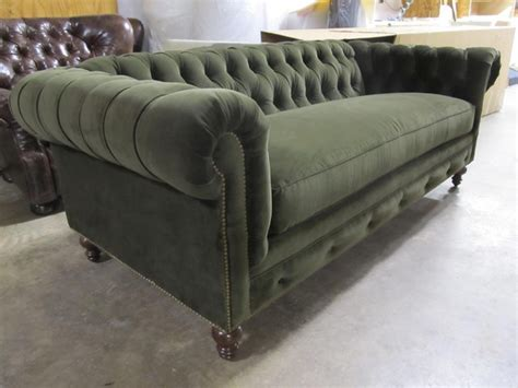 green velvet chesterfield sofa moss green velvet chesterfield