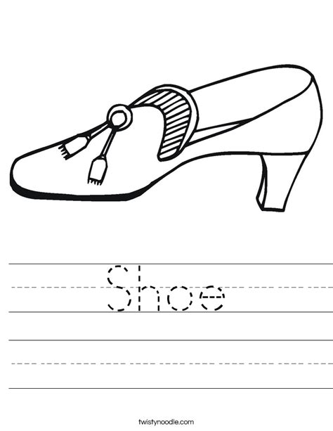 Chions Plumbing by Play Shoes Worksheet Twisty Noodle 28 Images S Shoes