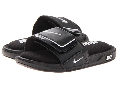 nike comfort slide nike kids comfort slide 2 little kid big kid zappos
