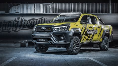 Toyota Courtesy Toyota Hilux Gets Mega Makeover Courtesy Of Carlex Design