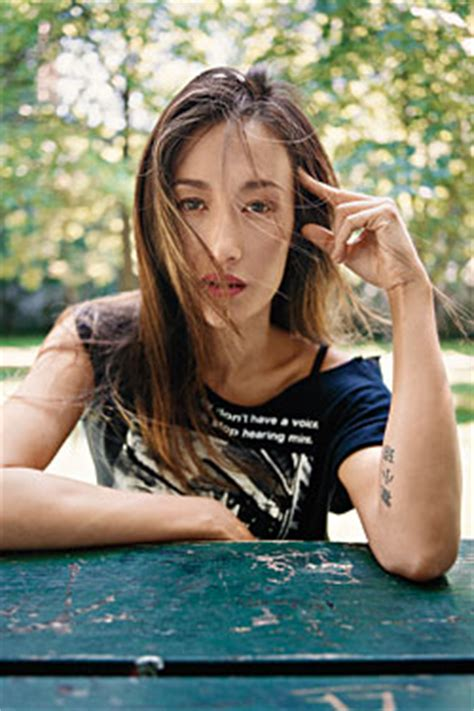 maggie q tattoo maggie q right arm www pixshark images