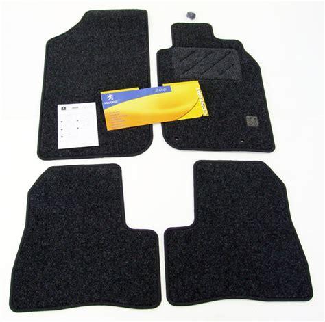 peugeot 206 carpet mats fits all 206 models gti hdi xsi