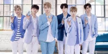Wanna One The Hyung Line Of Wanna One Become Refreshing Models For