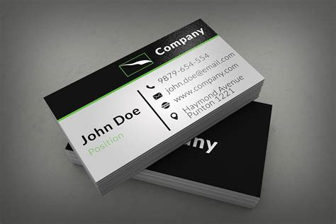 40  Unique & Stylish PSD Corporate Business Card Designs