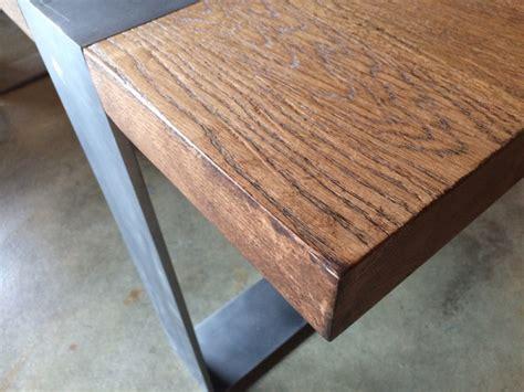 Gestell In Einem Laden by Esstisch Massiv Eiche Tisch Im Industriedesign Mit Einem