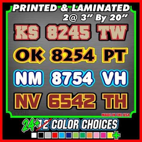 florida boat registration decal color decals for sale page 139 of find or sell auto parts