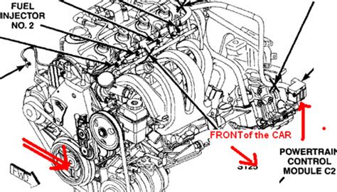 dodge neon engine diagram dodge neon crankshaft position sensor location dodge