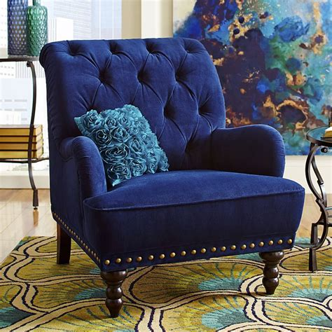 Navy Blue Velvet Chair by 25 Best Ideas About Blue Velvet Chairs On