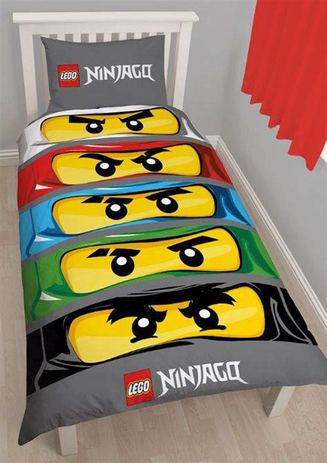 ninjago bed set lego ninjago single panel duvet reversible quilt
