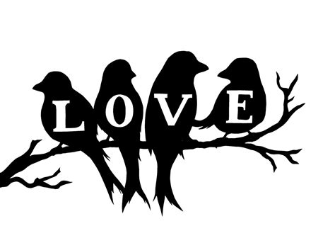 silhouette templates bird silhouette images clipart best