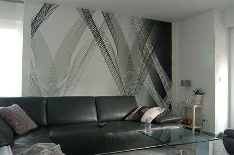 eine wand küche layout wohnzimmer tapete gr 252 n