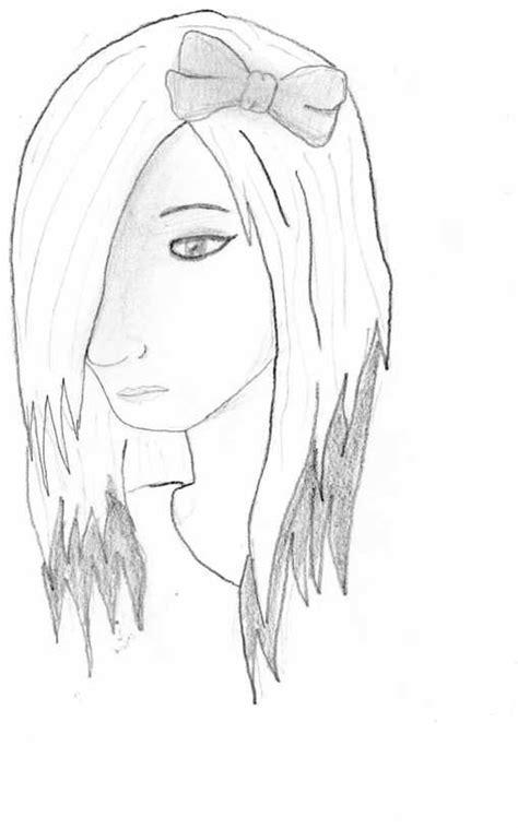 dibujos de emos tristes a lapiz dibujos emos de amor a lapiz faciles de dibujar imagui