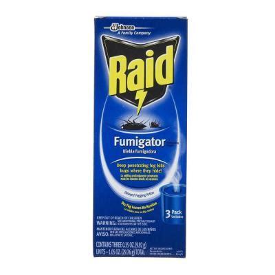 raid fogger kill bed bugs rat pest