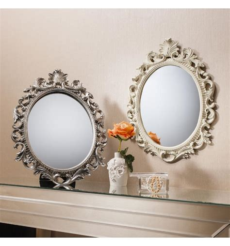 napoli small decorative oval stand or hang 163 35 99 mirror shop uk