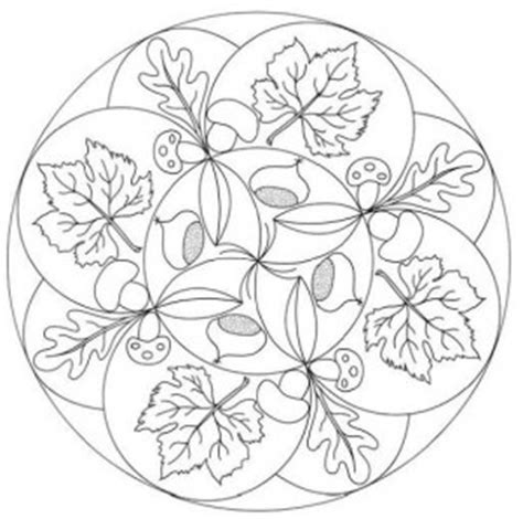 leaf mandala coloring page autumn mandala coloring page for kids crafts and