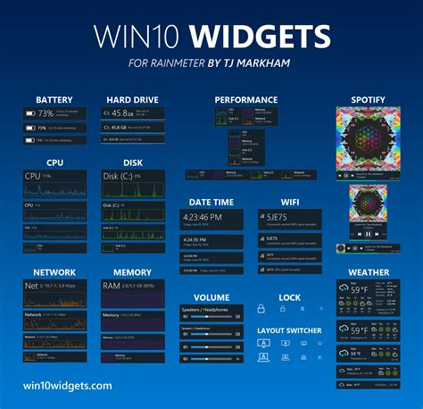 Calendar Desktop Gadget Win10 Widgets Widgets For Windows 10