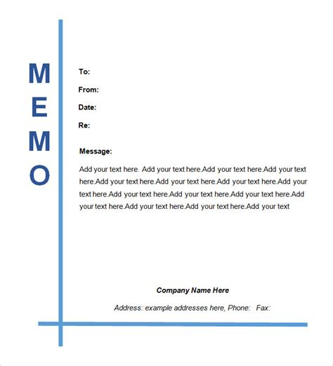 legal memo templates 13 free word excel pdf documents