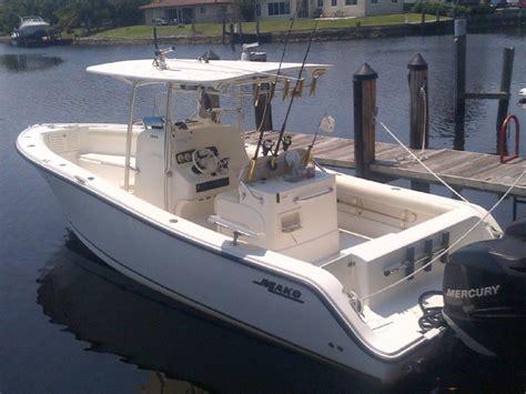 mako 284 center console boats mako 2006 used boat for sale in sarasota florida