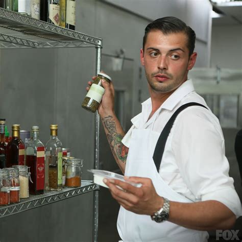 Fox Hells Kitchen frank takes charge during his challenge
