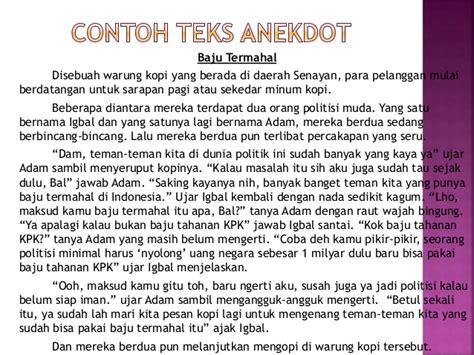 tugas bahasa indonesia membuat teks anekdot ide untuk membuat teks anekdot ppt bahasa indonesia