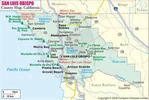 San Luis Obispo Zip Code Map by Cambrian Pathways