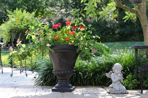 outdoor living traditional landscape st louis by