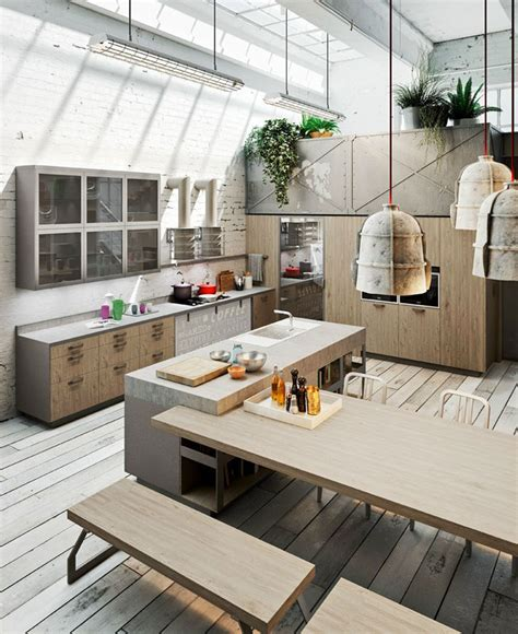 Decorating Style by Loft Style Kitchen Design By Michele Marcon Interiorzine