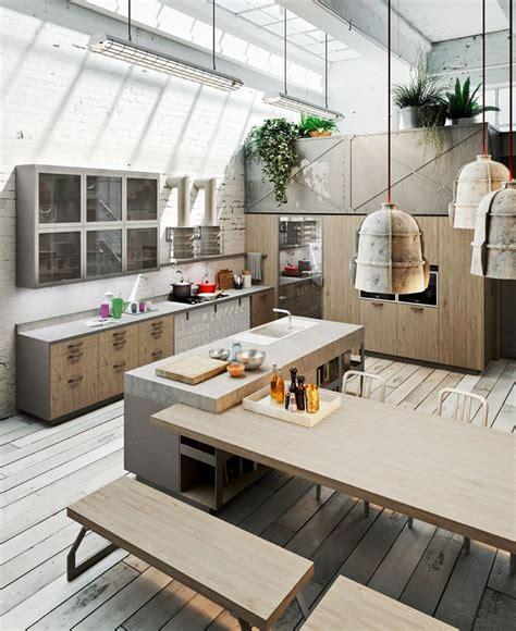 decorating style loft style kitchen design by michele marcon interiorzine