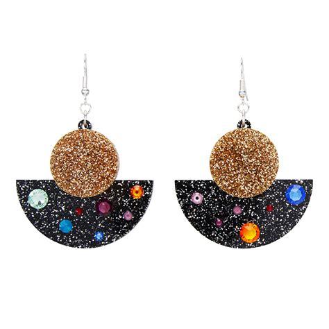 Galaxy Earrings galaxy earrings moose jewellery and