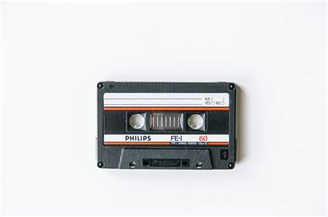 vintage cassette wallpaper philips compact cassette vintage closeup