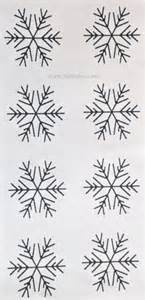 Simple Snowflake Template by Simple Snowflake Template For Royal Icing Snowflakes