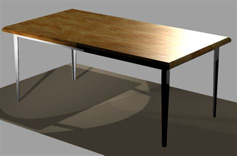 Dining Room Table Autocad 3d Cad Model Grabcad Barney Frank Dining Room Table