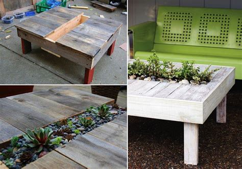 diy projects using pallets diy garden table using wooden pallets find