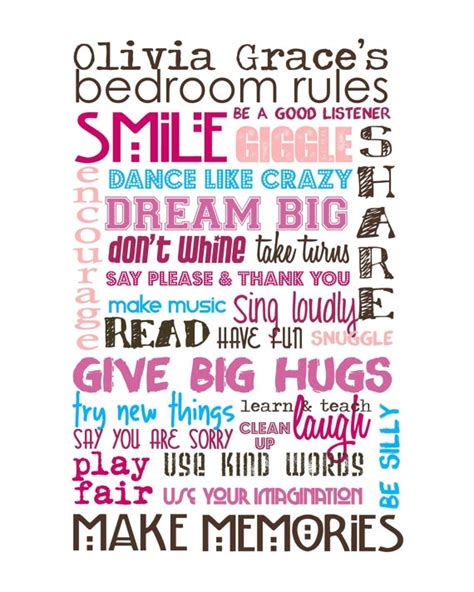 bedroom rules bedroom rules decorating ideas baby s room pinterest