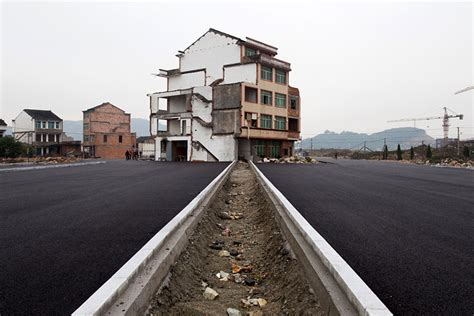 nail house china s government paves a highway around stubborn homeowners bored panda