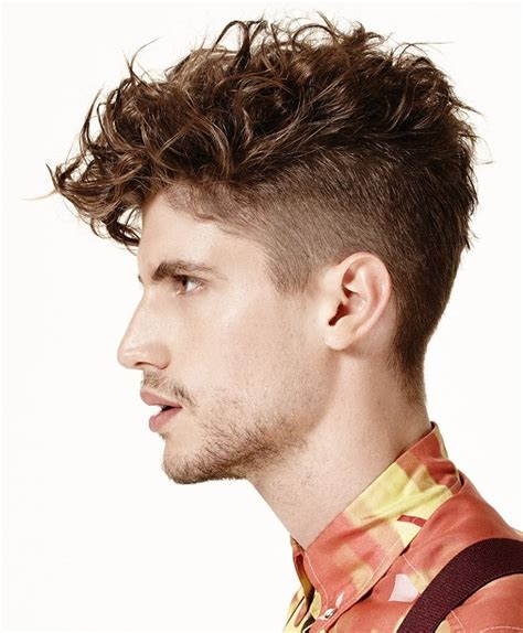Hairstyles For With Curly Hair by Styling Undercut With Curly Hair Fade Haircut