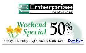 Canadian Car Rental Discount Codes Canadian Deals Car Rental Weekend Specials Canadian
