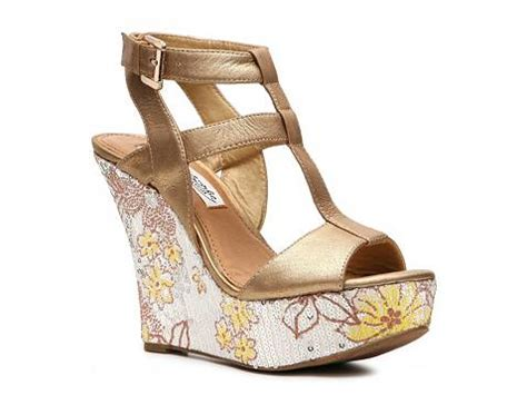 gold sandals dsw monkey gold member wedge sandal dsw