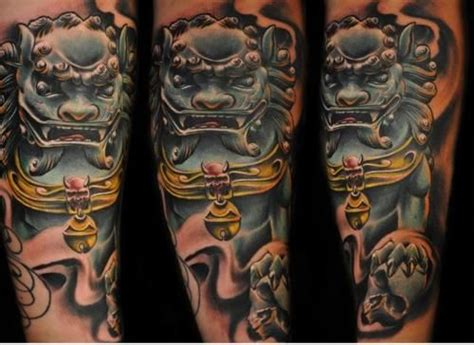 komainu tattoo design komainu foodog