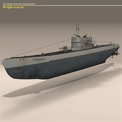 types of model boats type ix u boat submarine 3d model buy type ix u boat