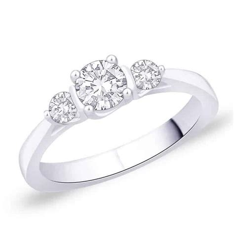 Partnerringe Verlobungsringe by Verlobungsring Partnerring Im650 3 Diamanten 0 60k