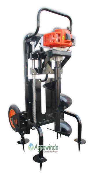 Alat Pembuat Lubang mesin pembuat lubang tanah agr pt62 mesinpertanian