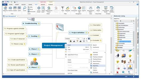 map creator tool mind map creator matchware mindview mind mapping software